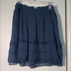 OLD NAVY Blue Tiered Skirt
